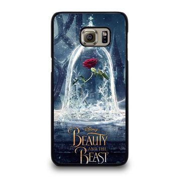 BEAUTY AND THE BEAST ROSE IN GLASS Samsung Galaxy S6 Edge Plus Case Cover