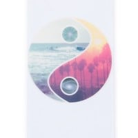 Brandy ♥ Melville |  White YinYang iPhone 5 Case - iPhone Cases - Accessories