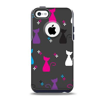 The Color Vector Cats  Skin for the iPhone 5c OtterBox Commuter Case