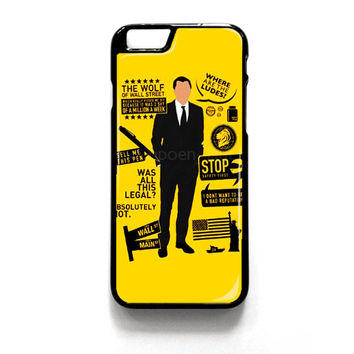 Wolf Of Wall Street Quotes iPhone 4 4S 5 5S 5C 6 6 Plus , iPod 4 5  , Samsung Galaxy S3 S4 S5 Note 3 Note 4 , and HTC One X M7 M8 Case