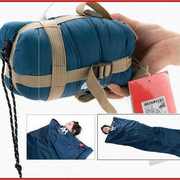 1.9*0.75m Ultra light Envelope cotton travel camping Sleeping Bag For Camping Hiking Climbing Outdoor for Spring Summer Autumn = 1930142148