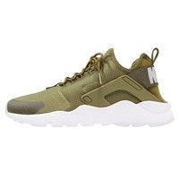 Nike Sportswear AIR HUARACHE RUN ULTRA - Trainers - olive flak/white - Zalando.co.uk