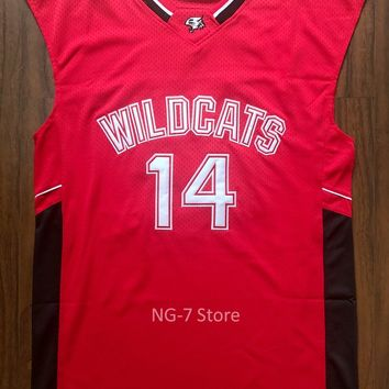 Troy Bolton Wildcats Jersey High School Musical