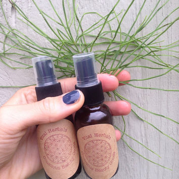 herbal hair spray . Organic hair growth spray. Nettle and horsetail