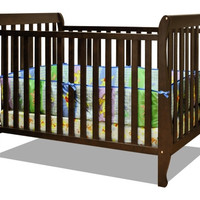 AFG Naomi 4-in-1 Baby Crib with Guardrail - 009