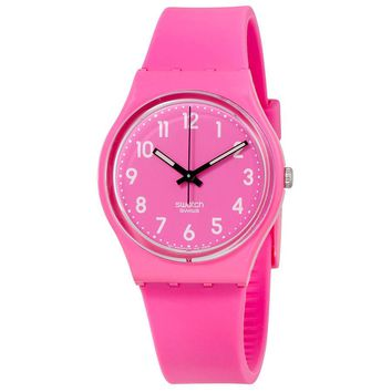 Swatch Dragon Fruit Soft Pink Ladies Watch GP128K