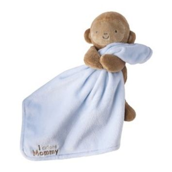 JUST ONE YOU® Made by Carters Infant Boys' Monkey Holding Blanket - Blue