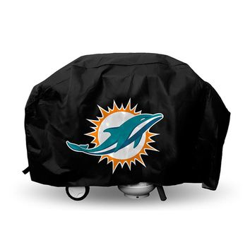 Miami Dolphins NFL Economy Barbeque Grill Cover