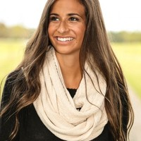 A Few Of My Favorite Things Scarf-Ivory