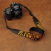 Fashion Zebra Print Camera Strap for DSLR