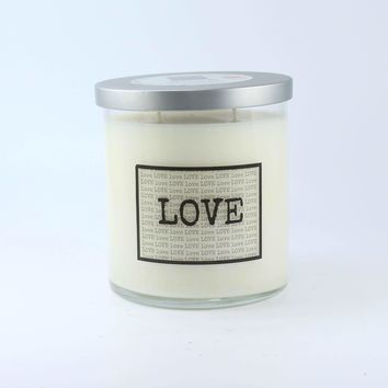 Soy Wax Candle Jar with Lid 17 oz. - Limited Edition