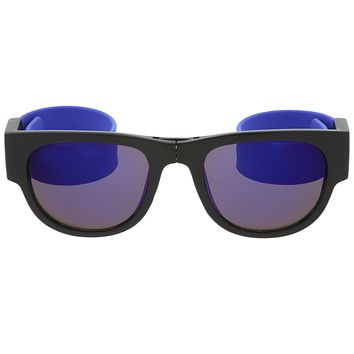 Novelty Folding Rubber Snap Arms Sunglasses C139