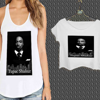 2pac TrendyCases1 For Woman Tank Top , Man Tank Top / Crop Shirt, Sexy Shirt,Cropped Shirt,Crop Tshirt Women,Crop Shirt Women S, M, L, XL, 2XL*NP*