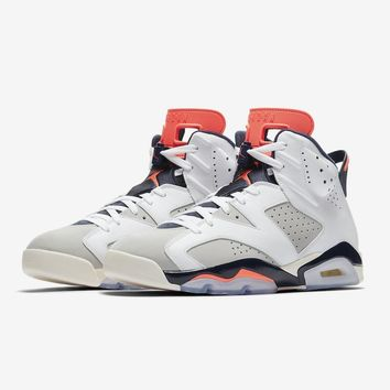 "Air Jordan 6 Retro ""Tinker"" 384664-104 AJ6 Sneakers - Best Deal Online"