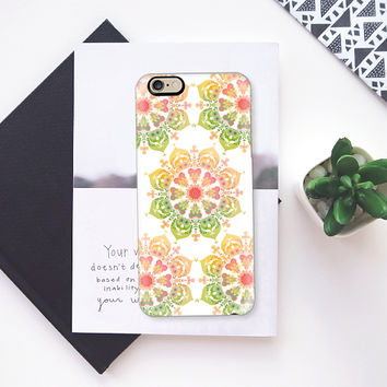 Spring Flower on white iPhone 6s case by Heaven Seven | Casetify