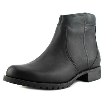 Timberland Banfield Ankle Women  Round Toe Leather Black Boot