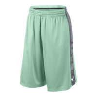 Nike Elite Stripe Men's Basketball Shorts - Medium Mint