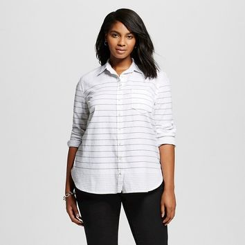 Women's Plus Size Favorite Shirt - Merona™