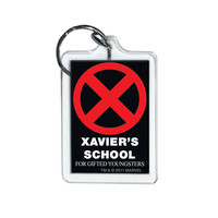 X-Men Xavier's School Keychain