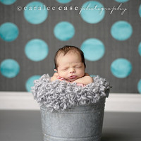 FREE SHIPPING CODE - Silver Loopy Mini Blanket