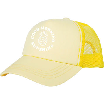 Billabong Girls - Good Morning Sunshine Hat | Vintage Yellow