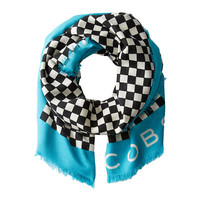Marc by Marc Jacobs Cleaver Check Scarf Deep Sea Turquoise Multi - Zappos.com Free Shipping BOTH Ways