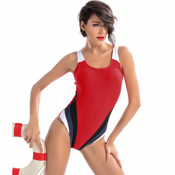 Competition Contrasting One Piece