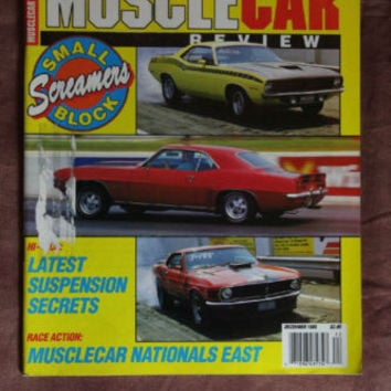 Muscle Car Review Magazine Suspension Secrets Dec 1989