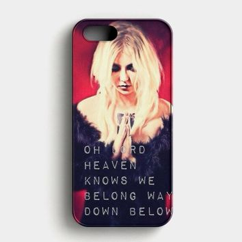 The Pretty Reckless Quotes iPhone SE Case