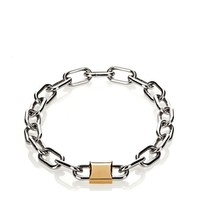 DOUBLE LOCK NECKLACE | Accessories | Alexander Wang Official Site