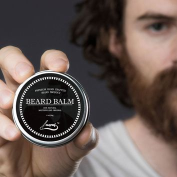 60g 100% Natural Beard Balm Moustache Growth Product