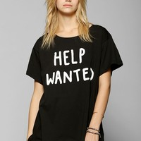 Lazy Oaf Help Wanted Oversized Tee - Urban Outfitters