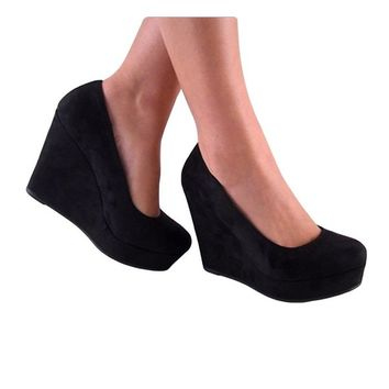 Beer-S Wedges Pumps-Shoes