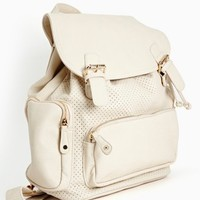 Weekend Love Backpack - Ivory