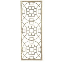 Golden Circles Wall Panel