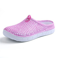 Special Offer Summer Women Clogs Shoes Beach Breathable Slippers Waterproof Anti-Slip Clogs For Women Mule Clogs Lightly Shoes