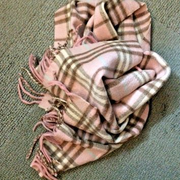 Burberry Cashmere Scarf NWOT
