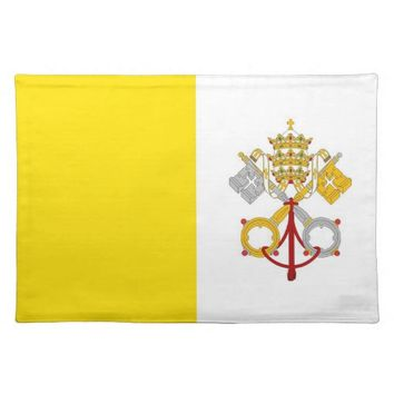 Vatican Flag MoJo Placemat