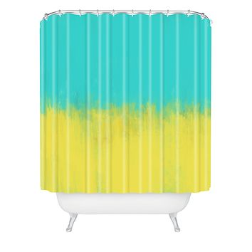 Allyson Johnson Caribbean Shower Curtain