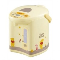 ZOJIRUSHI microcomputer boiling electric kettle Winnie the Pooh 2.2 L CD-WR22P-EZ yellow