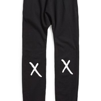 Boy's Mini & Maximus'No Falling Allowed' French TerryJogger Pants,