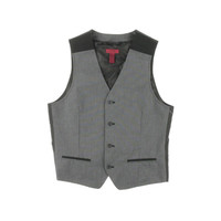 Alfani Mens Pindot Slim Fit Suit Vest