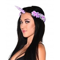 Light Up Unicorn Flower Crown