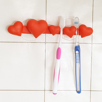 Heart Family Toothbrush Holder