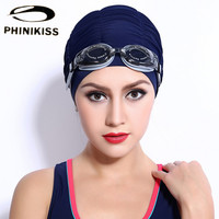 Flexible Women Sports Swimming Caps Stretch Elastic Swim Hats Silicone Waterproof Adults Bathing Hats Breathable Quick Dry