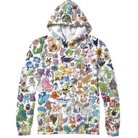 Pokemon Collage Hoodie