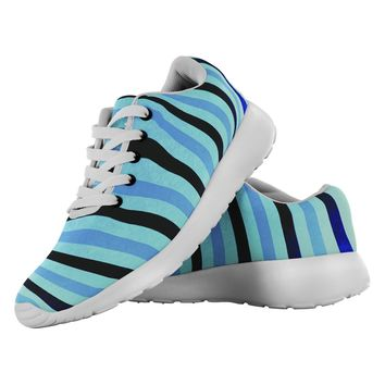 """Xray Stripes"" Made to Order Athletic Shoes"