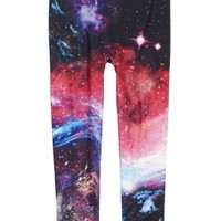 Photoreal Galaxy Leggings | Girls Tights & Legwear Socks & Legwear | Shop Justice