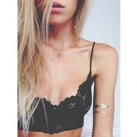 Love Street Bralette Black | Her Pony