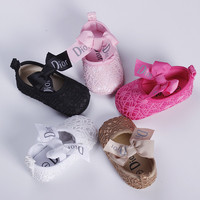 new style newborn baby brand shoes first walkers infant summer shoes for girls and boys size 11~13cmb1630